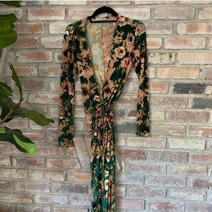 Zara floral kimono